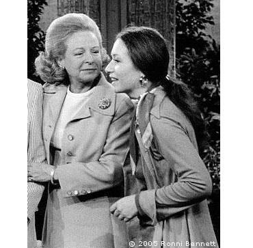 Ronni and Martha Mitchell