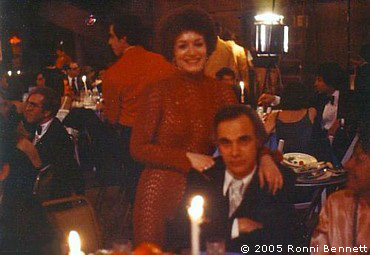Ronni and Ron at the Emmys 1977