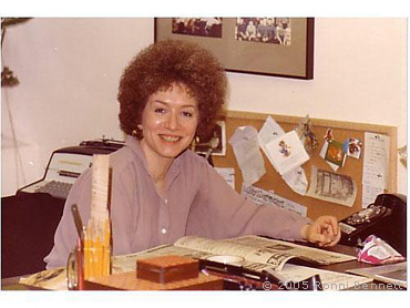 Ronni at the Office 1979