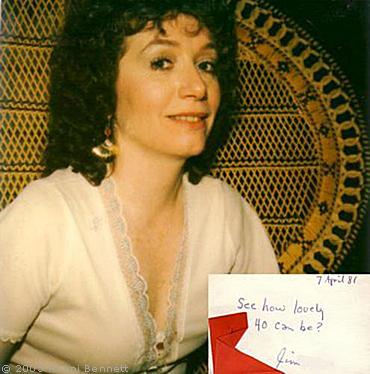 Ronni 1981 Birthday