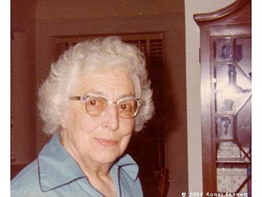 Edith at age 80