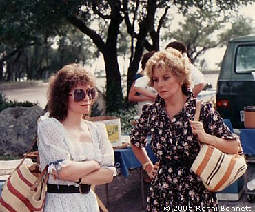 Ronni and Barbara Walters in Austin