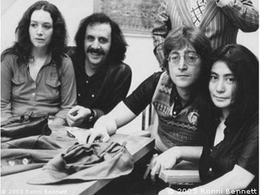 Ronni, Alex, John, Yoko 1970