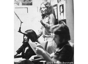 Yoko, John and Ronni